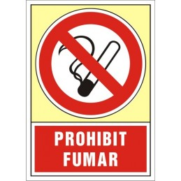 SYSSA, Senyal  Prohibit fumar