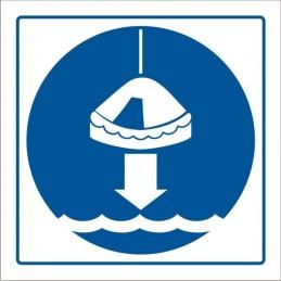 SYSSA,Señal Arríen;en balsas salvavidas