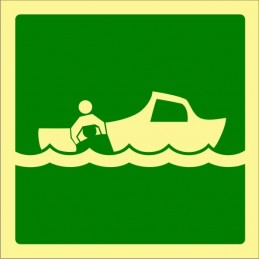 SYSSA,Señal Bote de rescate