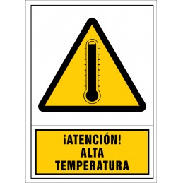 SYSSA,Señal ¡Atención! Alta temperatura
