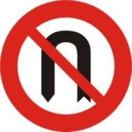 Media vuelta prohibida