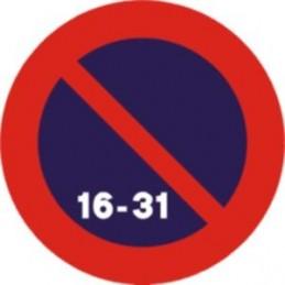Estacionamiento prohibido...