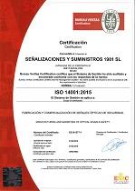 Certificado medio ambiente