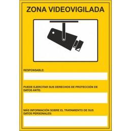 Senyal Zona vigilada per...