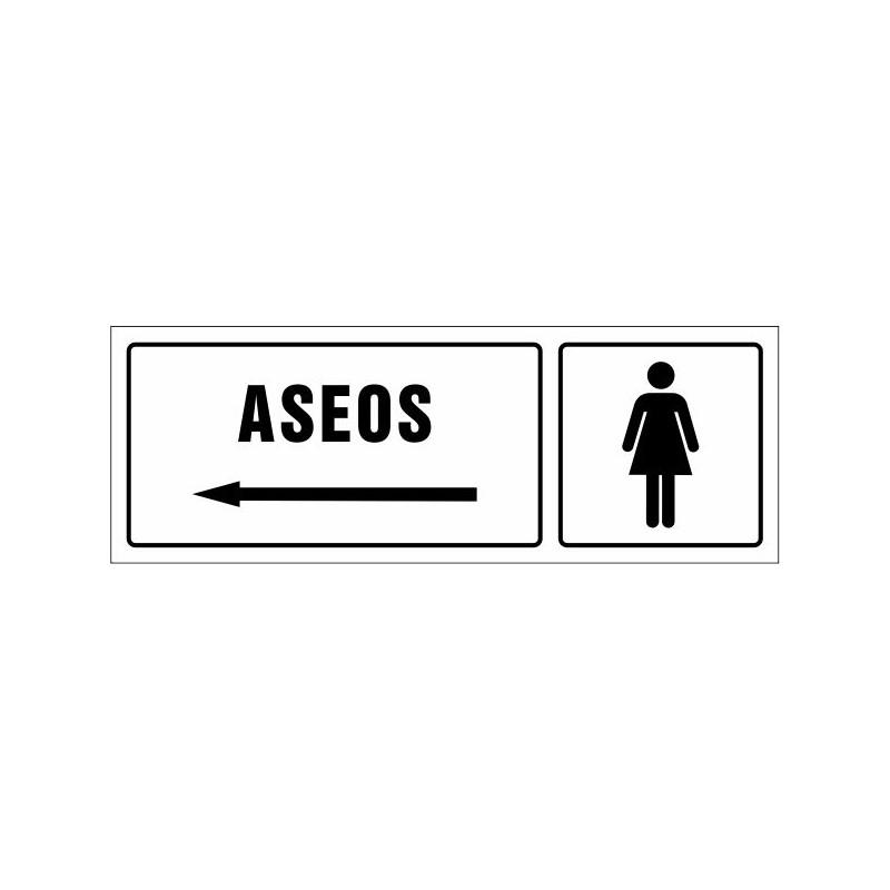 1503S-Señal Aseos señoras izquierda - Referencia 1503S