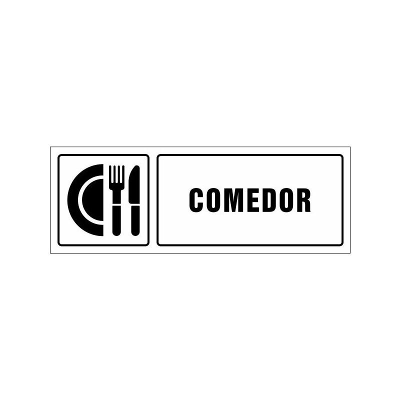 1521S-Cartel Comedor - Referencia 1521S