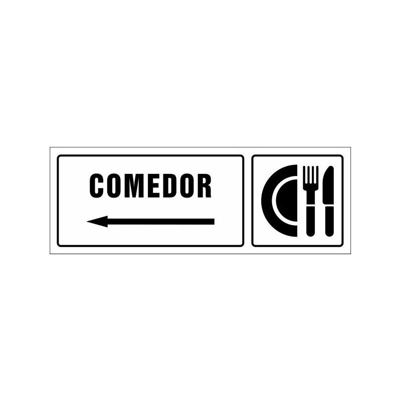 1523S-Cartel Comedor izquierda - Referencia 1523S