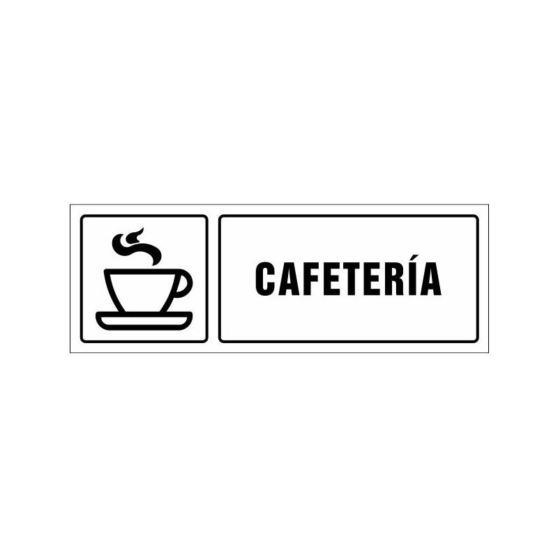 1531S-Cartel Cafetería - Referencia 1531S