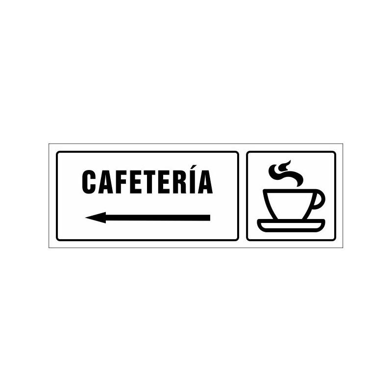 1533S-Cartel Cafetería izquierda - Referencia 1533S