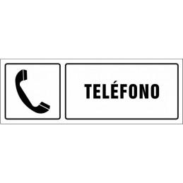 Cartell Telèfon amb texte -...