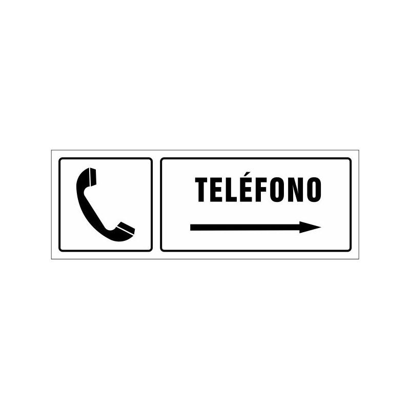 1542S-Cartel Teléfono derecha - Referencia 1542S