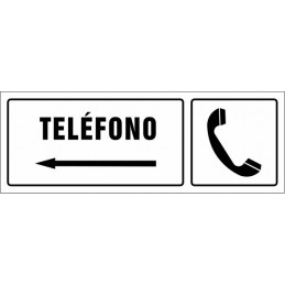 Cartell Telèfon esquerra -...