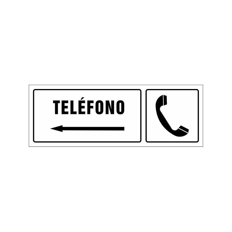 1543S-Cartell Telèfon esquerra - Referència 1543S