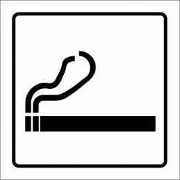 Cartell Permès fumar -...