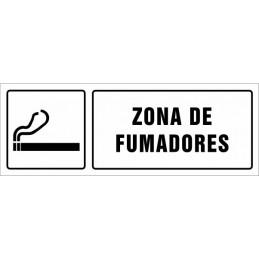 Cartell Zona per a fumadors...