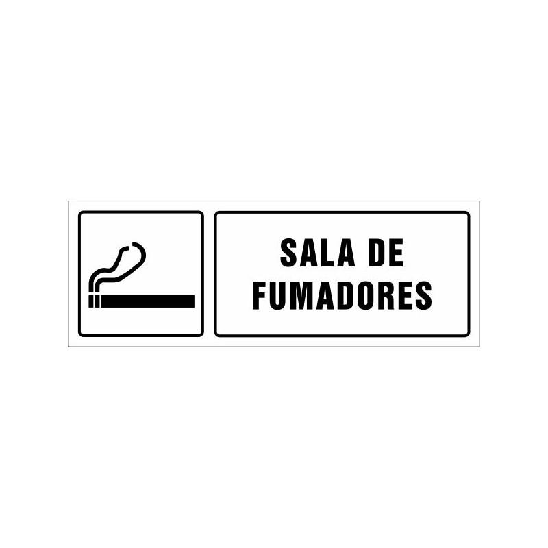 1573S-Cartel Sala de fumadores - Referencia 1573S