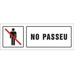 SYSSA,Señal No pasar
