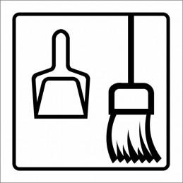 SYSSA,Señal Cuarto de limpieza