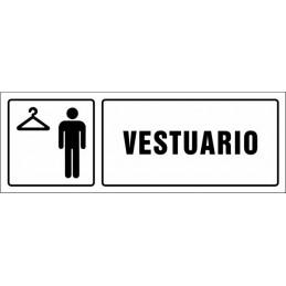 SYSSA,Señal Vestuario caballeros