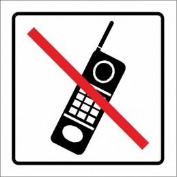 SYSSA,Señal Prohibido la utilización de telefonía móvil