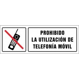 Prohibida la utilització de...