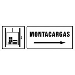 SYSSA,Señal Montacargas derecha