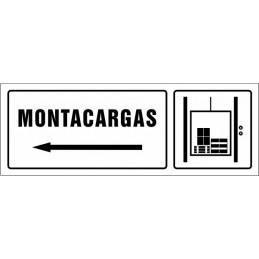 SYSSA,Señal Montacargas izquierda