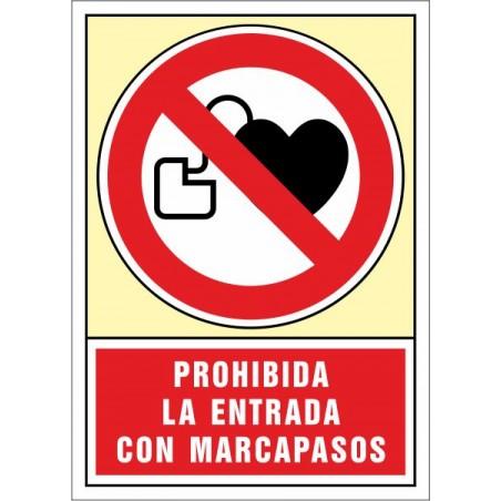 Prohibida l'entrada amb marcapassos