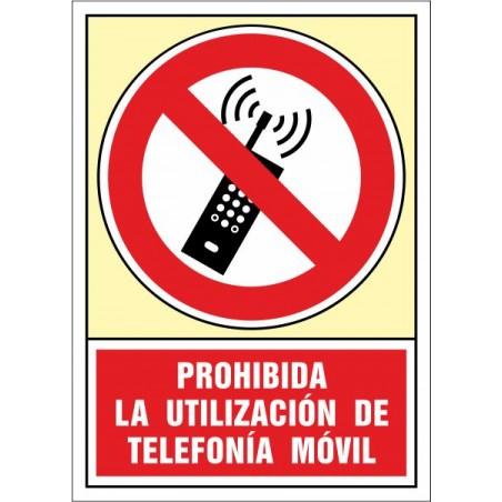 Prohibida la utilización de telefonía móvil