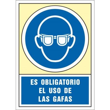 Es obligatorio el uso de las gafas 4002S