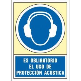 SYSSA,Señal Es obligatorio el uso de protección acústica