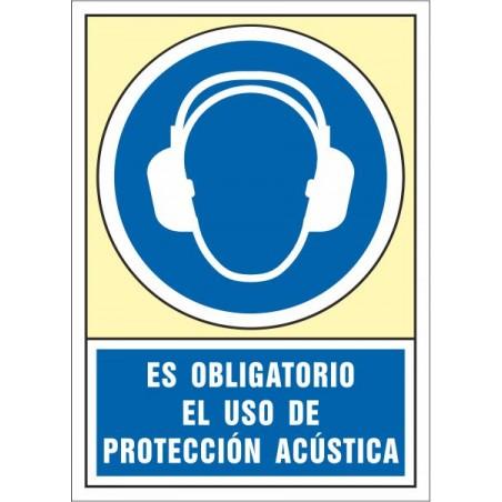 Es obligatorio el uso de protección acústica
