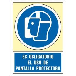SYSSA,Señal Es obligatorio el uso de pantalla protectora