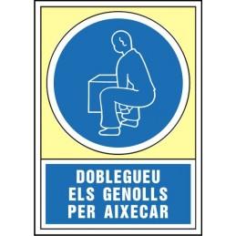 Senyal Doble els genolls...