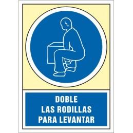 SYSSA,Señal Doble las rodillas para levantar