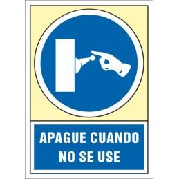 SYSSA,Señal Apague cuando no se use