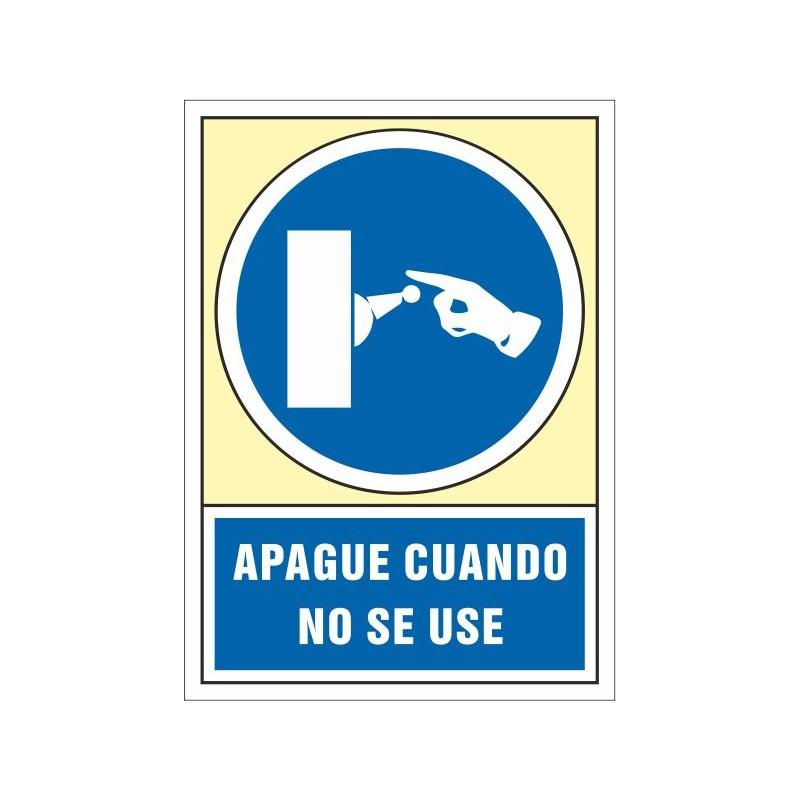 4019S-Señal Apague cuando no se use - Referencia 4019S