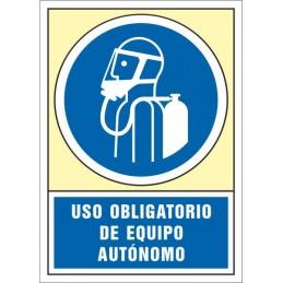 SYSSA,Señal Uso obligatorio de equipo autónomo