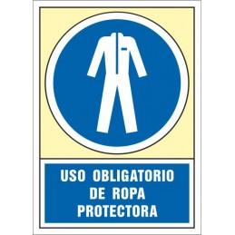 SYSSA,Señal Uso obligatorio de ropa protectora