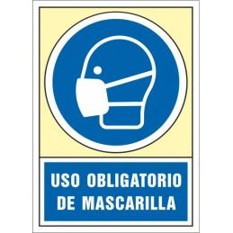SYSSA,Señal Uso obligatorio de mascarilla