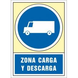 SYSSA,Señal Zona carga y descarga