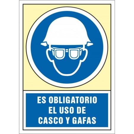 Es obligatorio el uso de casco y gafas