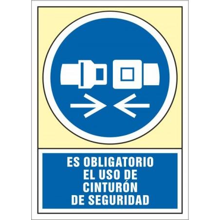 Es obligatorio el uso de cinturón de seguridad