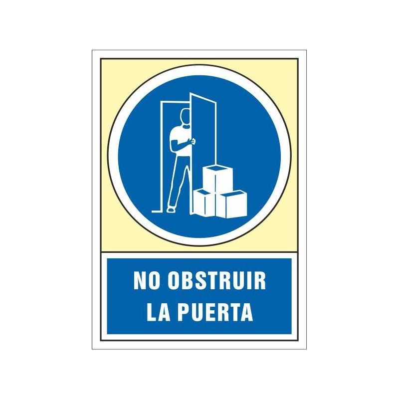 4047S-No obstruir la puerta