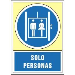 SYSSA,Señal Sólo personas