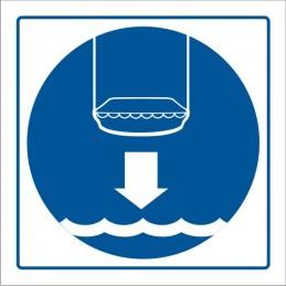 SYSSA,Señal Arríen;en botes salvavidas