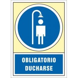SYSSA,Señal Obligatorio ducharse