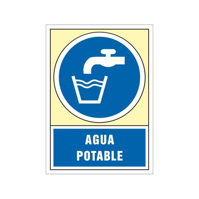 4053S-Señal  agua potable - Referencia 4053S