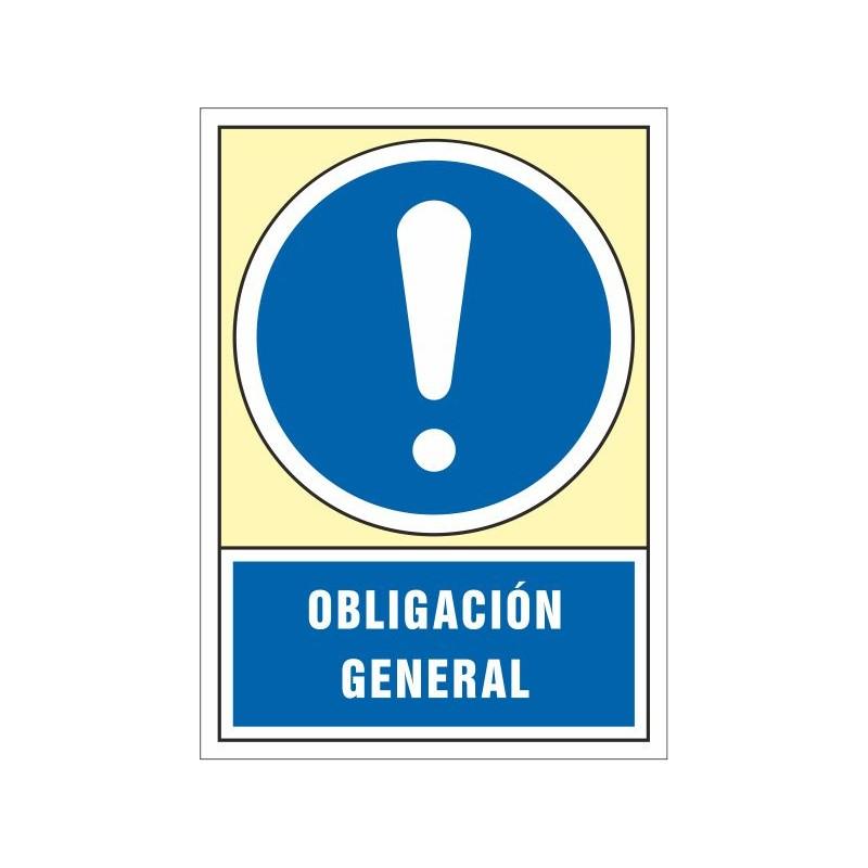 4055S-Señal Obligación general - Referencia 4055S