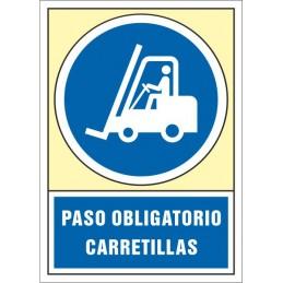 SYSSA,Señal Paso obligatorio carretillas